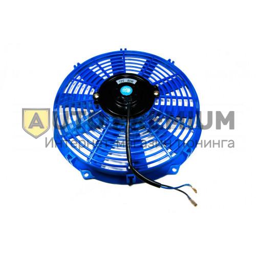 Вентилятор электрический 12 дюймов, синий (300мм)